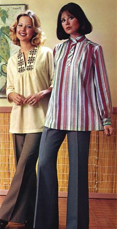 Kathy Loghry & Colleen Corby (JCPenney Catalog - 1976)