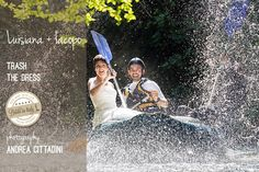 Trash the dress, rafting sul fiume Corno | ©2012 Andrea Cittadini
