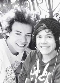 """And what's your name?"" ""Harry,"" ""That's my name too! Wanna picture?"" ""Yes! I want to be famous like you one day,"""