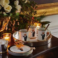 Ralph Lauren, The playful spirit of the Polo Bear meets stately sophistication in The Thompson Mug Set and Dessert Plates from RalphLaurenHome. . Shop No. 5/50 | Buro 24/7 Singapore