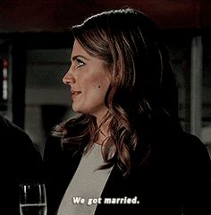 'Married' Detective Kate Beckett #Castle #Beckett