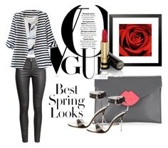 """""""Untitled #82"""" by kameliam on Polyvore featuring La Regale, Giuseppe Zanotti, H&M, WithChic and Gucci"""