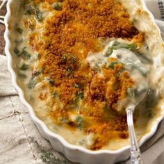 Cheddar Green Bean Casserole. This is a twist on the classic. It is made from scratch with tons of FRESH vegetables and sharp cheddar cheese