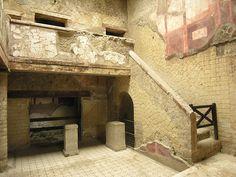 House of the Beautiful Courtyard in Herculaneum. Casa del Bel Cortile - Ercolano   #ercolano #herculaneum #ruins #scavidiercolano #pompeii #museum #villadeipapiri #statue #excursions #travel #italy #faunopompei #road #papyri #streets