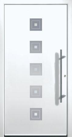 Modern Entry Doors - Modern Entry Door Modern Entry Door, Modern Exterior Doors, House Entrance, Entrance Doors, Modern Windows And Doors, Modern Driveway, Iron Doors, Door Design, Ceiling Fan