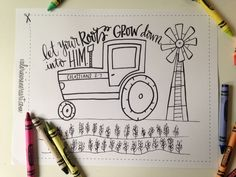 adore this collection of hand drawn kids coloring pages!!