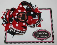 Love Minnie Mouse! This will be perfect for our up coming Disney Trip!