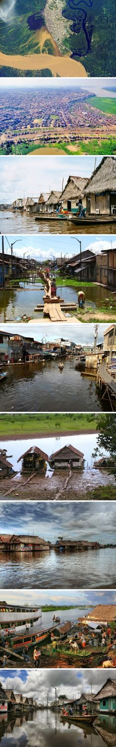 We'll all float on, Iquitos - Peru