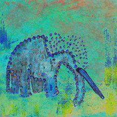 Featured Art - Green Elephant  by Geckojoy