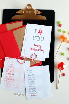 Mother's Day card - free printable | NoBiggie.net #free_printable #Mothers_Day_Card