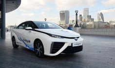 Toyota Mirai named best hydrogen fuel cell car in AutoVolt awards. http://www.pierceytoyota.com/