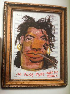 Slash'es eyes Mighty Boosh Art
