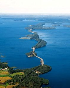 Towards north at Lake Päijänne, in Pulkkilanharju, Asikkala, Finland Helsinki, Restaurants In Paris, Lofoten, Places To Travel, Places To Visit, Finland Travel, Famous Places, Norway, Travel Inspiration