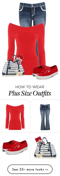 """""""Untitled #9066"""" by nanette-253 on Polyvore featuring maurices, Jane Norman and Superga"""