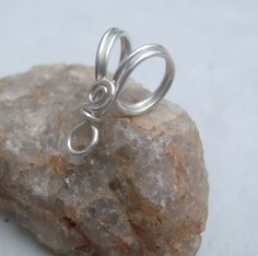 Handmade Sterling Silver Bail V PurpleLily by PurpleLilyDesigns, $4.20