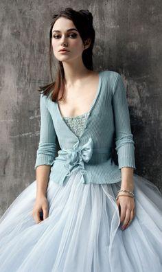 Blue tulle, Keira Knightley