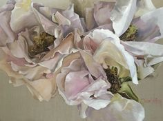 Lost In The Garden Linton & Kay Exhibition 2017 China Painting, Large Painting, Southport Gold Coast, Beautiful Artwork, Beautiful Flowers, Inspirational Artwork, Australian Artists, Floral Wall, Large Flowers