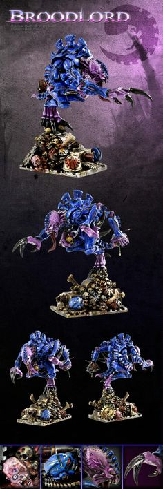 Awesome, Broodlord, Character, Genestealer, Genestealer Broodlord Spacehulk Painted, Painted, Spacehulk, Troops