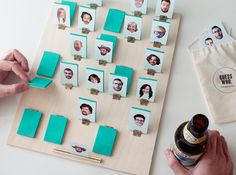"Make your own game ""Guess Who?"" - Creatistic"