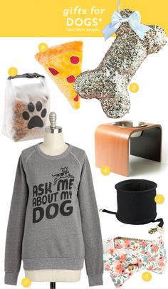 Great gift ideas for dogs and their people!
