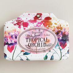 Castelbel Tropical Orchid Bar Soap   World Market