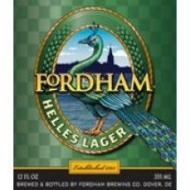 Fordham Brewing Company - Helles Lager (Beer of the Month Club)