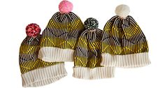 Blizzard Hat by Annie Larsson for Of a Kind. I'd get one but I already have one in a similar colorway...MUST RESIST! Only 20 made, have at em!