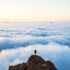 The top.  #Momentum #LaCuadraU #LaCima #Sky #Cielo  Créditos   @michaelmatti
