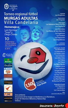 Grupo Mascarada Carnaval: El sábado, torneo  de fútbol de murgas de Canarias...