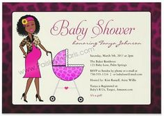African American Baby Shower Themes | baby shower tableware cheap bridal shower invitations #285