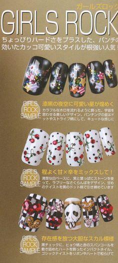 25 Best Japanese Nail Art Magazine Scans Images On Pinterest