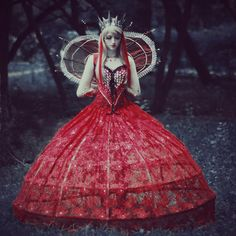 Red Queen costume by Vavalika on deviantART