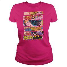 SuperGirl, Wonder Woman, BatGirl T Shirt, Hoodie, Sweatshirts - cool t shirts #tee #Tshirt