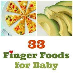 33 finger foods for baby | BabyCentre Blog