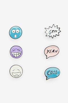 Emojinal Earring Set