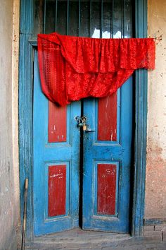Door, Kashgar, China Awesome, the photo looks 3 dimensional!