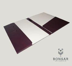 Carpeta minimalista Bonsar