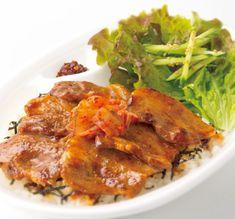 サムギョプサル弁当 Bento Lunchbox, Bento Box Lunch, Pork, Meat, Chicken, Kale Stir Fry, Pork Chops, Cubs
