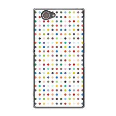 Sony Xperia Z1 Compact Dots Love Lust Faith And Dreams Case