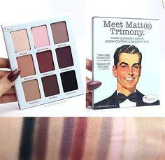 The Balm Meet Matt(e) Trimony. Eye Shadow Palette With Mirror in Health & Beauty, Makeup, Eyes   eBay