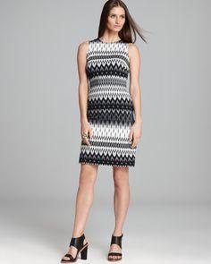 Karen Kane Exposed Zip Dress   Bloomingdales