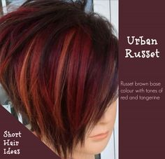 67 Best Red Hair Colour images | Short hair, Short hair styles ...