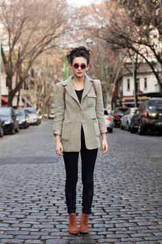 OTC - BUENOS AIRES street style: Florencia, 24 años, estudiante de artes visuales.