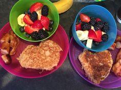 Valentine's Day WW pancakes
