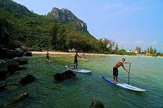 "Somewhere in Thailand called ""Paradise"". Starboard's Zane Schweitzer and crew. Photo: Ensyde"