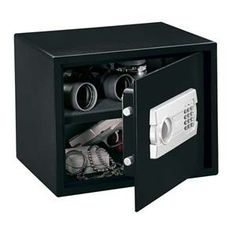 Stack-On Large Safe Electronic Lock 15 x x Black - 76441 (STACK-ON PRODUCTS COMPANY). Stack-On's Large Safe with Electronic lock is modestly sized with a removable shelf and room to secure your most valuable items such as, je Home Depot, Office Safe, Personal Safe, Best Safes, Security Safe, Electronic Lock, Concealed Hinges, Savings Bank, Secure Storage