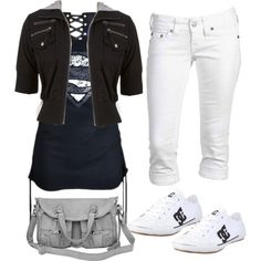 A fashion look from October 2012 featuring True Religion and DC Shoes sneakers. Browse and shop related looks.