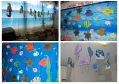 preschool classroom themes   It was obvious that the kids had worked very hard decorating the room ...