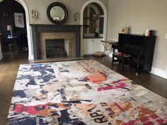 By Stark: Metro / Lexington design, 10 x 14 rug. Star K, Design Projects, Carpet, Interior Design, Rugs, Home Decor, Little Cottages, Nest Design, Farmhouse Rugs