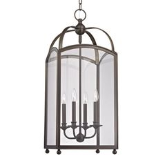 Hudson Valley Millbrook Distressed Bronze Four Light Pendant With Clear Glass 8414 Db Foyer Pendant, Hudson Valley Lighting, Hudson Valley, Ceiling Lights, Chandelier Lighting, Pendant Light, Chandelier, Lantern Lights, Clear Glass